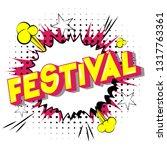 festival   vector illustrated... | Shutterstock .eps vector #1317763361