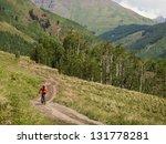 Mountain Biking In Crested...