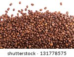 Coffee Beans As A Background...