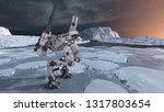 3d cg rendering of robot | Shutterstock . vector #1317803654