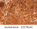 rusty metal surface close up | Shutterstock . vector #13178164