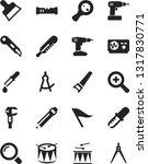 solid black vector icon set  ... | Shutterstock .eps vector #1317830771