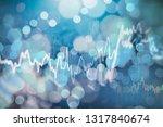business financial or stock... | Shutterstock . vector #1317840674