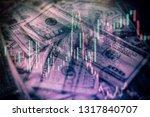 business financial or stock... | Shutterstock . vector #1317840707