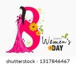international women's day... | Shutterstock .eps vector #1317846467
