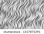 black and white abstract wavy... | Shutterstock .eps vector #1317872291