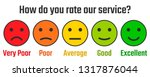how do you rate our service ... | Shutterstock .eps vector #1317876044