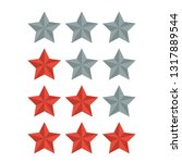 star rating icon vector