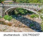 scenery around vals les bains ... | Shutterstock . vector #1317902657