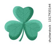 clover leaf. isolated object... | Shutterstock .eps vector #1317935144