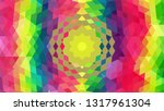 geometric design. colorful... | Shutterstock .eps vector #1317961304