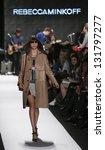 new york   february 8  model... | Shutterstock . vector #131797277