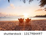 romantic getaway for couple ... | Shutterstock . vector #1317984497