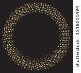 round frame of gold stars on a...   Shutterstock .eps vector #1318011494