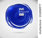 Blue Round Brush Strokes   The...