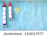 empty filmstrips  picture...   Shutterstock . vector #1318117577