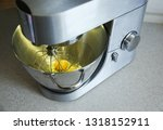 food processor to kneading of... | Shutterstock . vector #1318152911