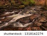 the upper clydach river which... | Shutterstock . vector #1318162274