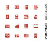 reader icon set. collection of... | Shutterstock .eps vector #1318182821