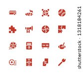 match icon set. collection of... | Shutterstock .eps vector #1318184261