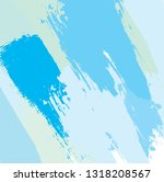 abstract colorful blue sky... | Shutterstock .eps vector #1318208567