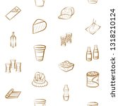 food images. background for... | Shutterstock .eps vector #1318210124