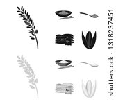 vector illustration of crop and ... | Shutterstock .eps vector #1318237451
