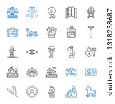safety icons set. collection of ... | Shutterstock .eps vector #1318238687
