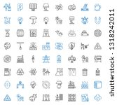 energy icons set. collection of ... | Shutterstock .eps vector #1318242011