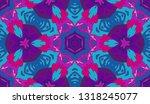 whimsical ethnic seamless...   Shutterstock .eps vector #1318245077