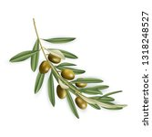 illustration of realistic olive ... | Shutterstock .eps vector #1318248527