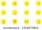 smile sun set | Shutterstock .eps vector #1318375841