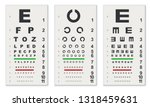 traditional eye test charts... | Shutterstock .eps vector #1318459631