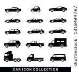 car icon set collection vector | Shutterstock .eps vector #1318464767