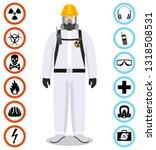 industry concept. detailed... | Shutterstock .eps vector #1318508531