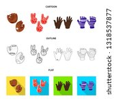vector illustration of... | Shutterstock .eps vector #1318537877