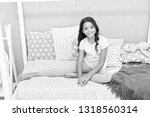 cute and adorable. little girl... | Shutterstock . vector #1318560314