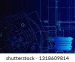 vector engineering illustration....   Shutterstock .eps vector #1318609814