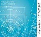 blueprint. corporate identity....   Shutterstock .eps vector #1318609967