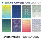 vibrant covers collection....   Shutterstock .eps vector #1318642007