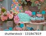 Dessert Table On Wedding