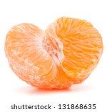 Peeled Tangerine Or Mandarin...
