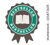 bestseller label | Shutterstock .eps vector #131871635