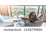 life work balance  relaxation...   Shutterstock . vector #1318739834