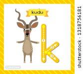Letter K Lowercase Cute...