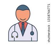 doctor   avatar   male     Shutterstock .eps vector #1318766771