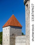 medieval fortifications of... | Shutterstock . vector #1318769627