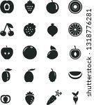 solid black vector icon set  ... | Shutterstock .eps vector #1318776281