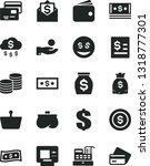 solid black vector icon set  ... | Shutterstock .eps vector #1318777301