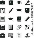 solid black vector icon set  ... | Shutterstock .eps vector #1318777397